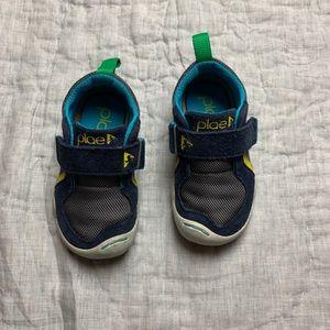 PLAE blue toddler boy shoes